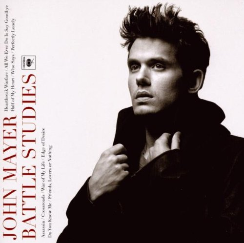 John Mayer All We Ever Do Is Say Goodbye cover art