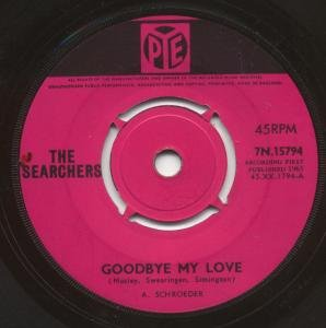 The Searchers Goodbye My Love cover art