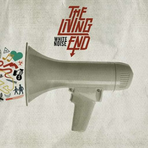 The Living End White Noise cover art