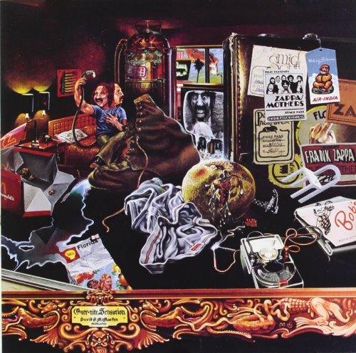 Frank Zappa Fifty-Fifty cover art