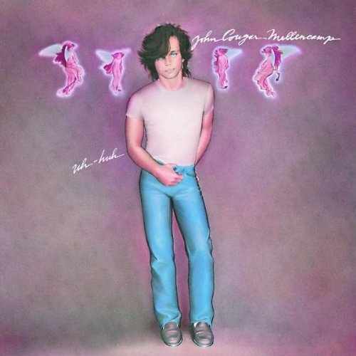John Mellencamp Pink Houses cover art