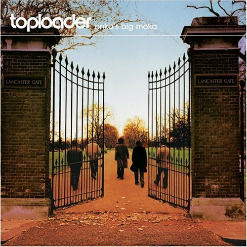 Toploader Just About Living cover art