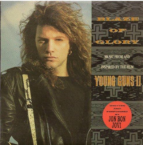Jon Bon Jovi Blaze Of Glory cover art