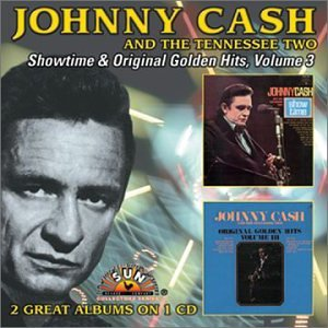 Johnny Cash Ring Of Fire cover kunst