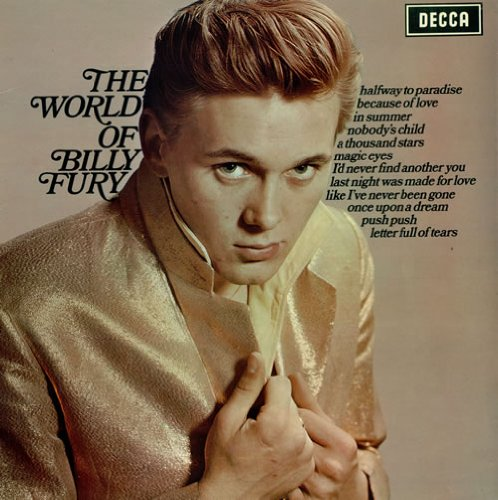 Billy Fury Like I've Never Been Gone cover art