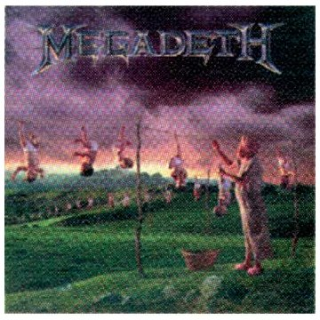 Megadeth Youthanasia cover art