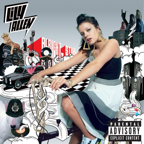 Lily Allen Friday Night cover art
