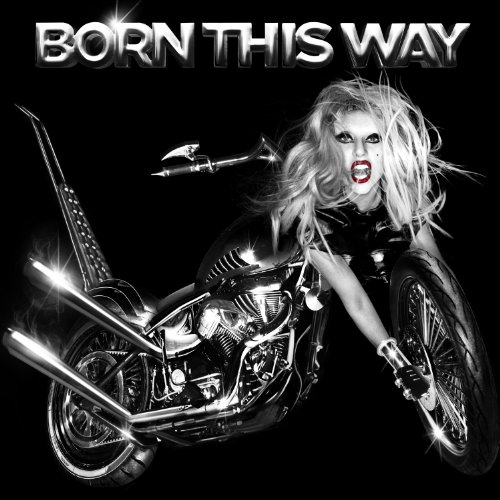 Lady Gaga Born This Way cover art