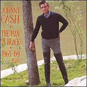 Johnny Cash The Man In Black cover art