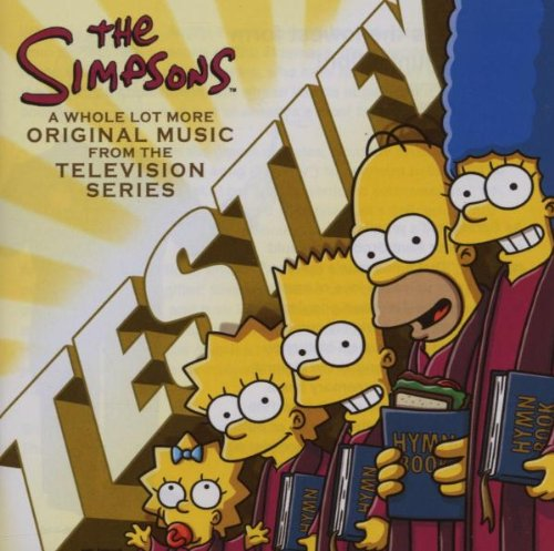 The Simpsons I Love To Walk cover art