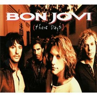 Bon Jovi These Days cover art