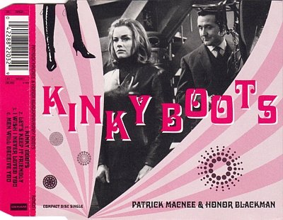 Honor Blackman & Patrick Macnee Kinky Boots cover art