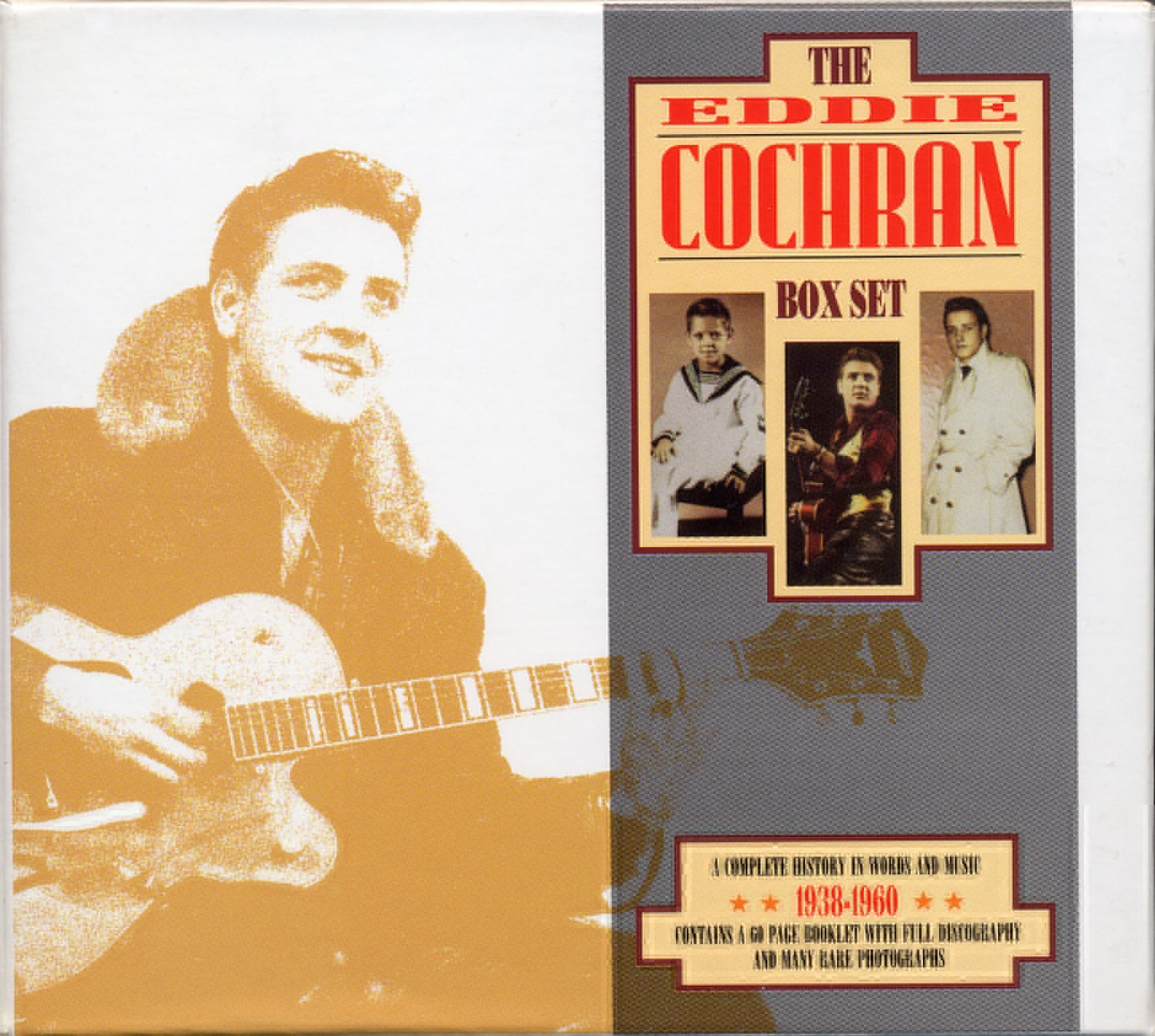 Eddie Cochran Three Stars cover art