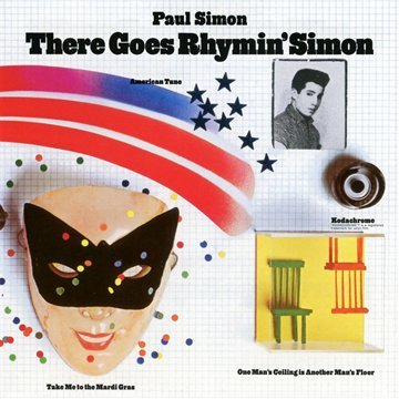 Paul Simon Take Me To The Mardi Gras cover art
