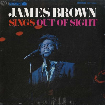 James Brown Out Of Sight cover art