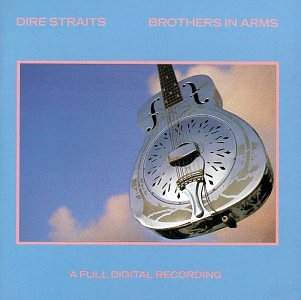 Dire Straits The Man's Too Strong cover art