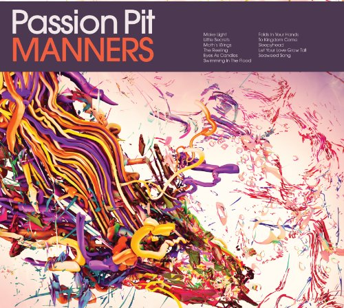 Passion Pit The Reeling cover art