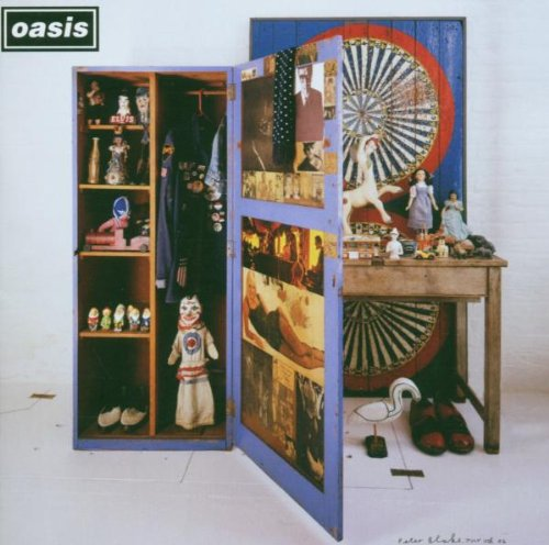 Oasis Half The World Away cover art