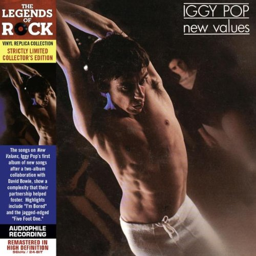 Iggy Pop Five Foot One cover art