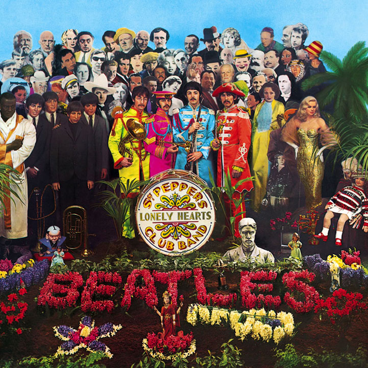 The Beatles Sgt. Pepper's Lonely Hearts Club Band cover art
