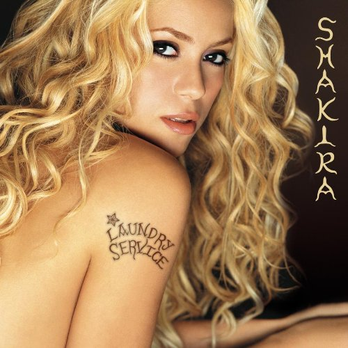 Shakira Underneath Your Clothes cover art
