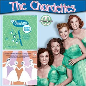 The Chordettes Down Among The Sheltering Palms cover art