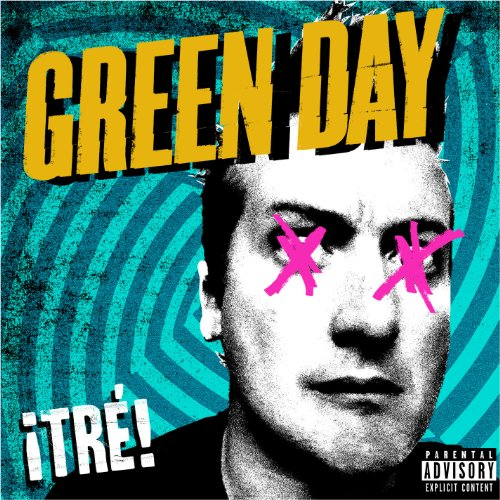 Green Day Sex, Drugs & Violence cover art