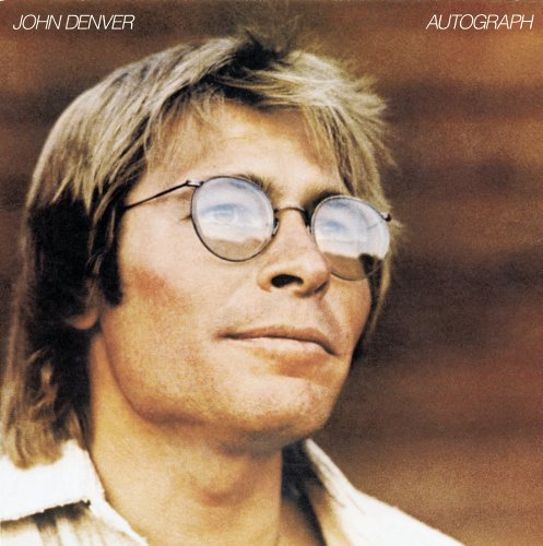 John Denver Autograph cover art