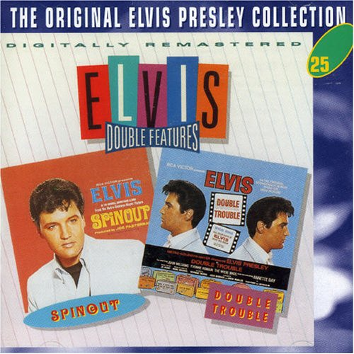 Elvis Presley Double Trouble cover art