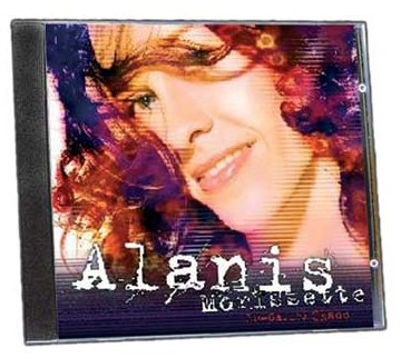 Alanis Morissette Spineless cover art