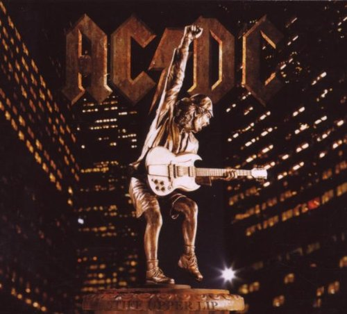 AC/DC Hold Me Back cover art