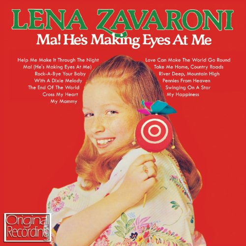 Lena Zavaroni Ma, He's Making Eyes At Me cover art