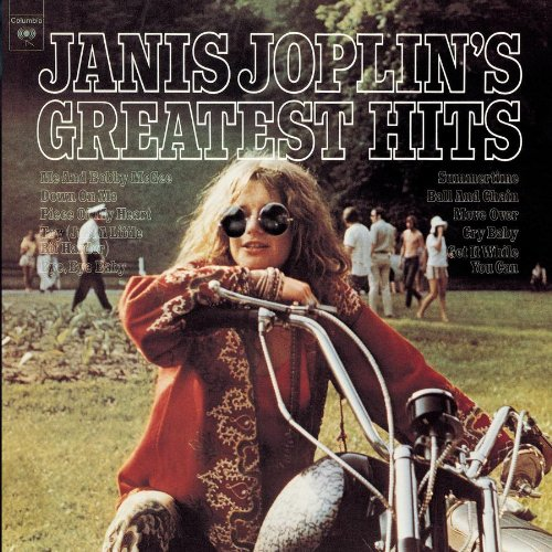 Janis Joplin Me And Bobby McGee cover art