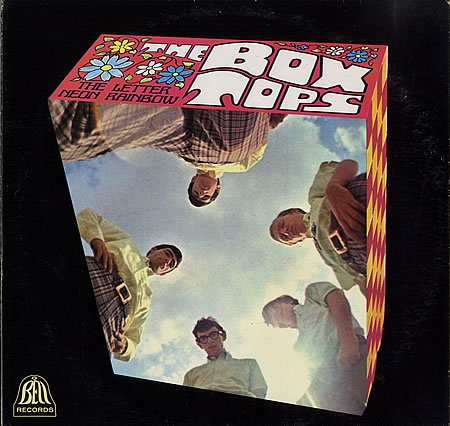 Box Tops The Letter cover art