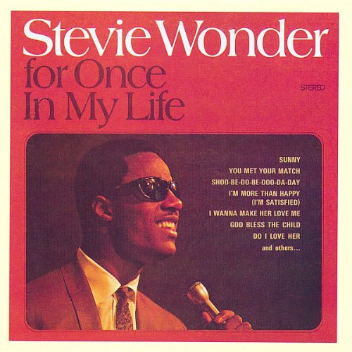 Stevie Wonder Don't Know Why I Love You cover art