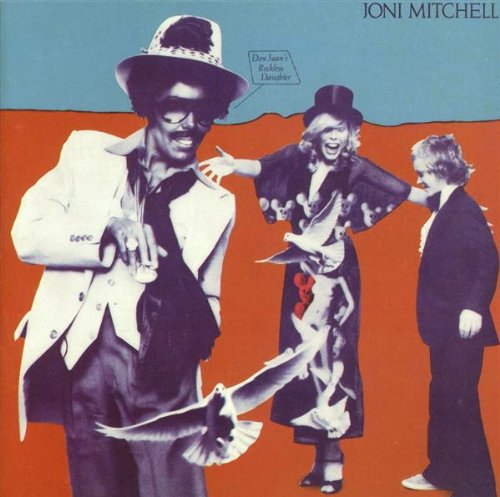 Joni Mitchell Talk To Me cover art