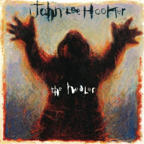 John Lee Hooker The Healer cover art