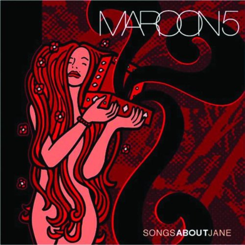 Maroon 5 Shiver cover art