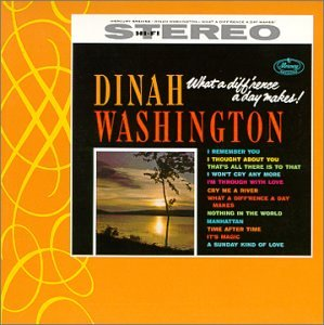 Dinah Washington Manhattan cover art