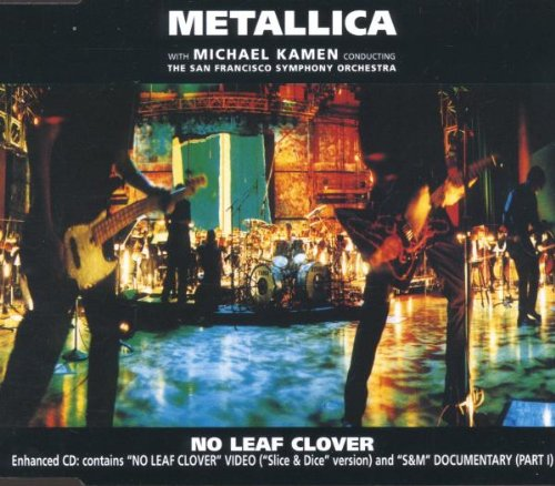 Metallica No Leaf Clover cover art