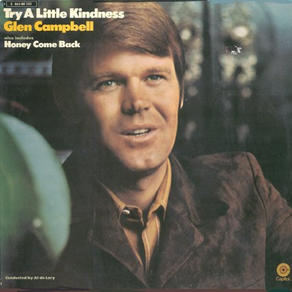 Glen Campbell Try A Little Kindness cover art