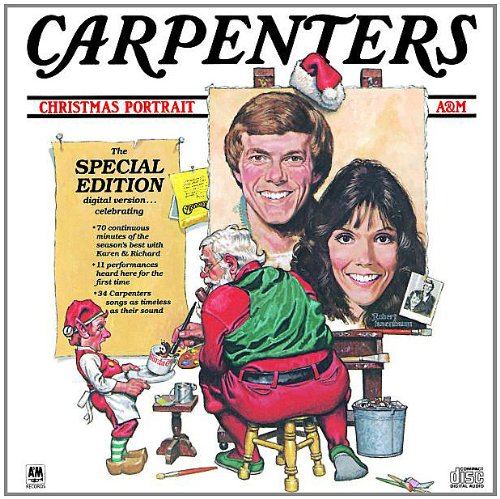 Carpenters The Christmas Waltz cover art