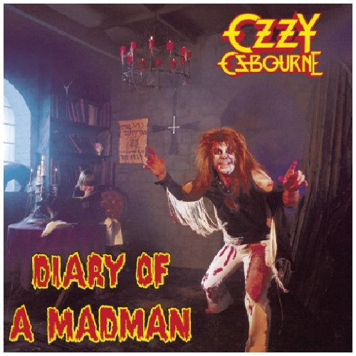 Ozzy Osbourne Over The Mountain cover art