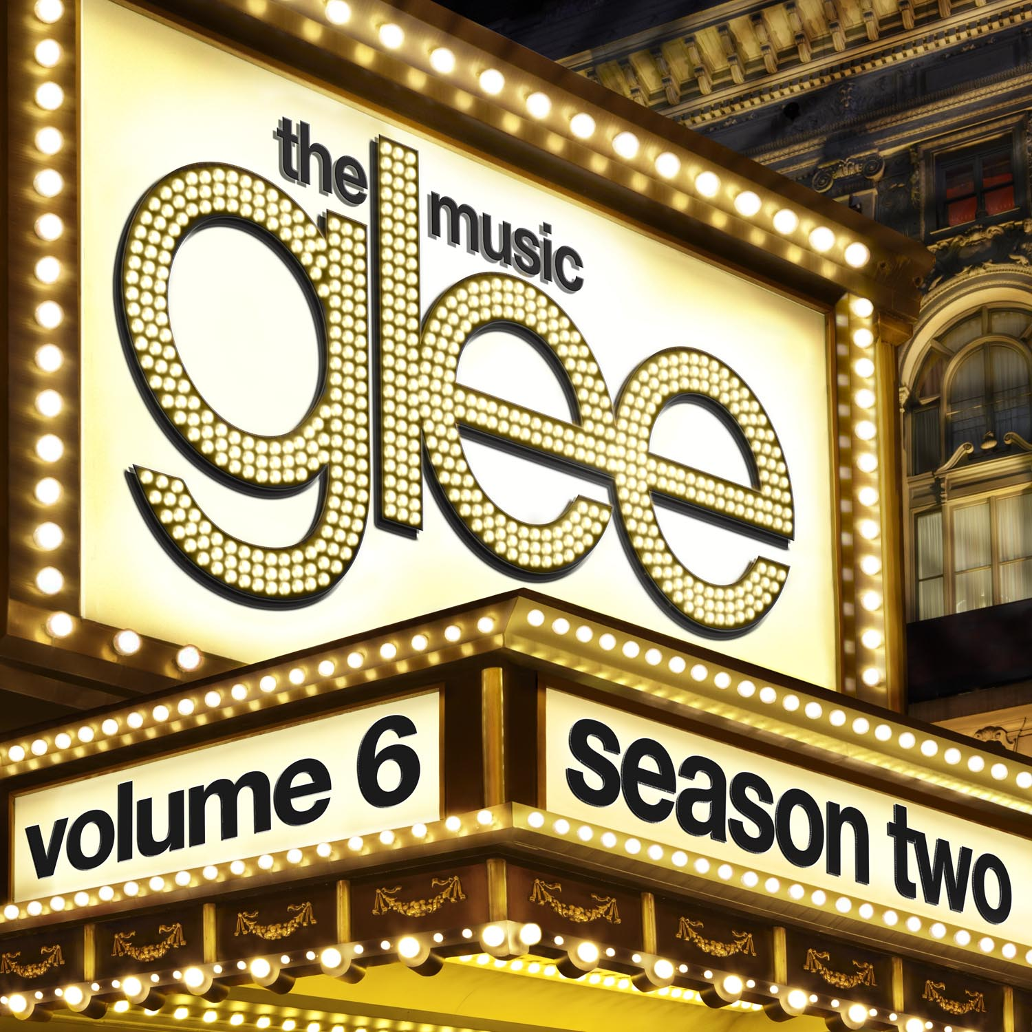 Glee Cast Dancing Queen cover art