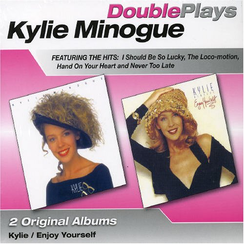 Kylie Minogue Wouldn't Change A Thing cover art