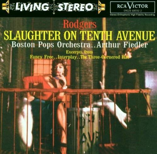 Richard Rodgers Slaughter On Tenth Avenue cover art