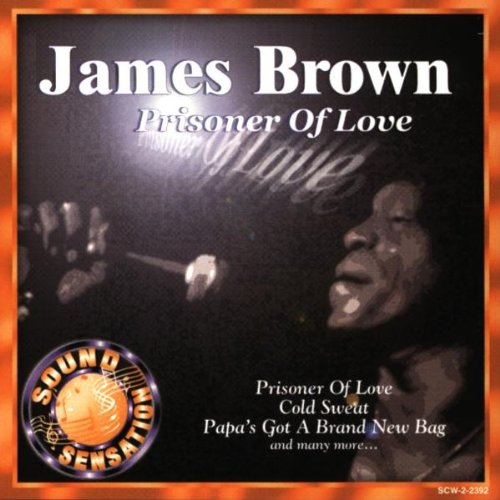 James Brown Prisoner Of Love cover art