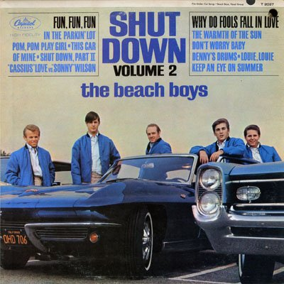 The Beach Boys Fun, Fun, Fun cover art