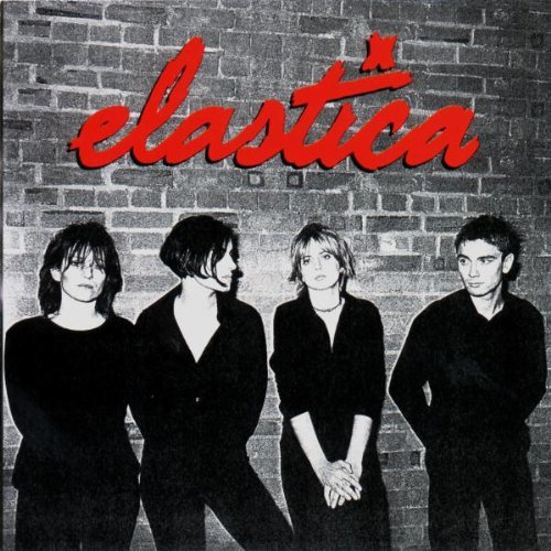 Elastica Waking Up cover art
