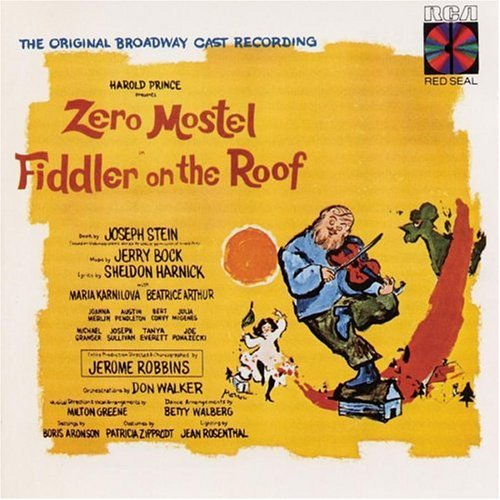 Jerry Bock Miracle Of Miracles (from Fiddler On The Roof) cover art